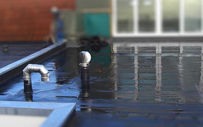 Wartung von Flachdächern frb Dachdecker