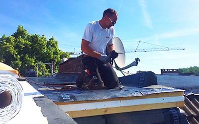 Dachdämmung durch Dachdecker von frb
