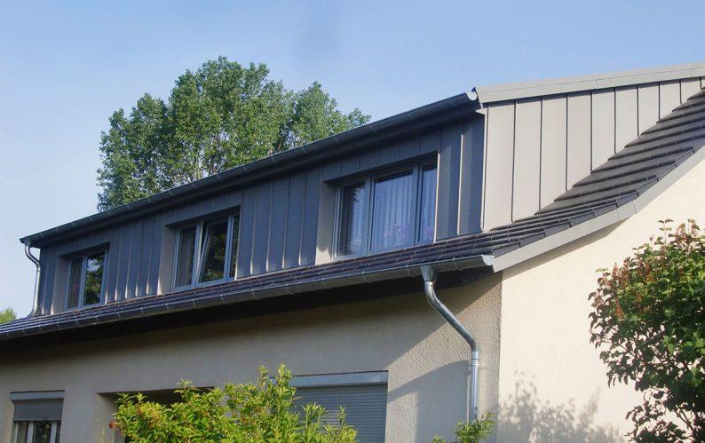 Projekte, Dach mit Gaube, frb Dachdecker